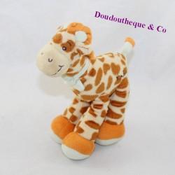 KimBALOO brown giraffe scarf