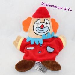 Doudou puppet clown MAISONS DU MONDE circus 27 cm