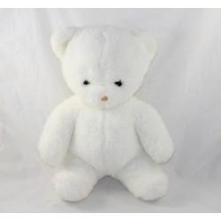 Plush bear PASTEL white...