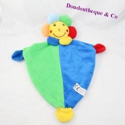 Doudou flat sun BEST PRICE green blue bell 41 cm