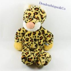 Plush leopard NICI yellow...