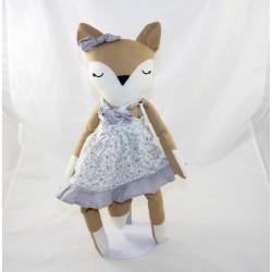 Plush fox BOUCHARA dress...