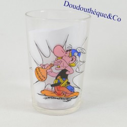 Asterix mustard glass and...