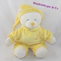 Plush bear GIPSY Baby bear yellow