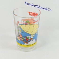 Obelix mustard glass and...