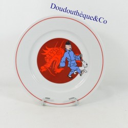 Plate Tintin The blue lotus...