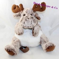 Plush backpack reindeer CREATIONS DANI elk