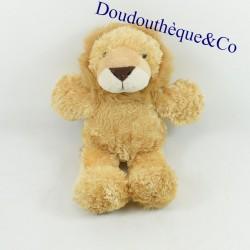 Lion plush ALOHA brown and...