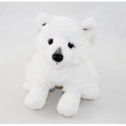 Plush white wolf CREATIONS...