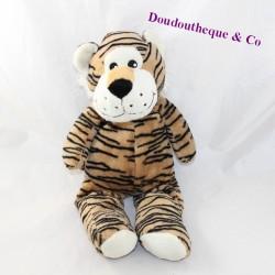 Plush tiger MAX & SAX brown black stripes