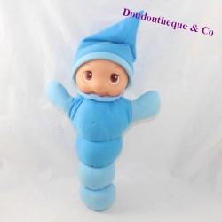 Plush firefly CARREFOUR BABY caterpillar blue