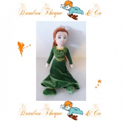 Peluche princesse  Fiona PLAY BY PLAY Shrek 2 robe verte 30 cm