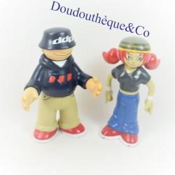 Figurines mascots DDP boy...