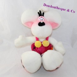 Plush mouse DIDDL pink overalls 32 cm