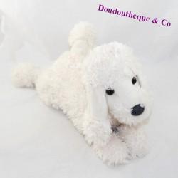 Plush dog LOUISE MANSEN white poodle