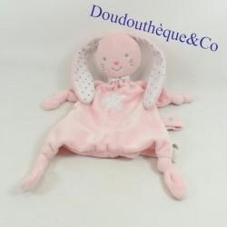 Doudou flat rabbit TEX pink...