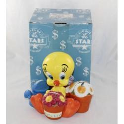3D piggy bank Titi AVENUE OF THE STARS Looney Tunes multi ceramic slots