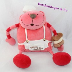 Plush bear DPAM The same to the same Small shortbread red cook 30 cm