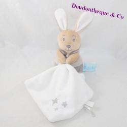Doudou handkerchief rabbit BABY NAT' Pearl and Perlim