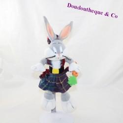 Plush rabbit Bugs Bunny GIOCATTOLI SICURI Looney Scottish Tunes 30 cm