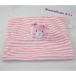 Blanket flat rabbit SHENZHEN square striped
