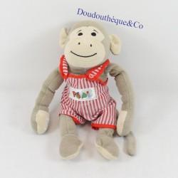 Plush monkey Popi BAYARD...