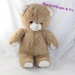 Teddy bear BOULGOM beige brown pulls the tongue