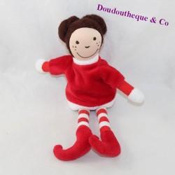 Plush doll YVES ROCHER red elf