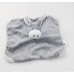 Doudou flat donkey FIP gray...
