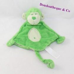 Doudou puppet monkey HAPPY HORSE green