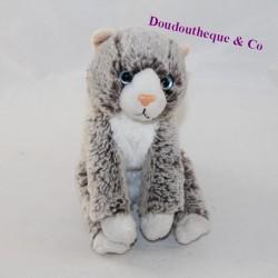 Soft friends lgri gray cat stuffed animal