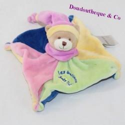 Doudou flat bear BABY NAT Sweets