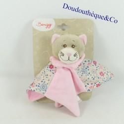 Doudou flat cat BENGY pink,...