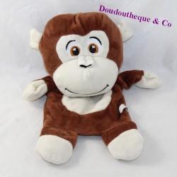 Doudou puppet monkey UNIK TOYS brown
