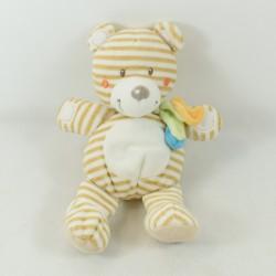 Teddy bear NICOTOY striped...