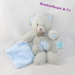 Doudou handkerchief bear BABY NAT Les Calins