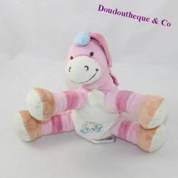 Doudou unicorn BENGY pink