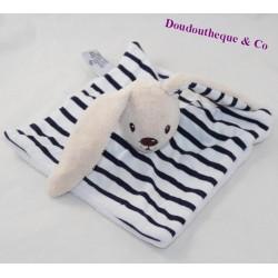 Flat rabbit blanket ARMOR-LUX Iffig striped