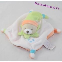 Mini blanket flat bear CUDDLY AND COMPANY Acidulated