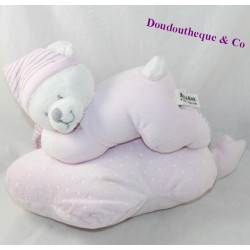 Musical plush bear MAX & SAX Carrefour