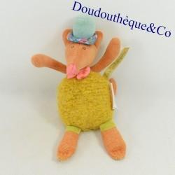 Doudou rattle fox MOULIN...