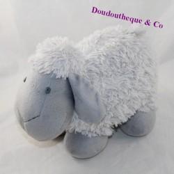 Plush sheep gray long hair 28 cm