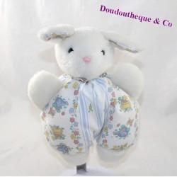 Doudou rabbit CÉDÉJI mouse patterns flowers