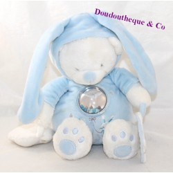 Max & SAX Carrefour bear activity plush disguised as a rabbit