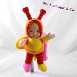 Plush butterfly doll AUCHAN...