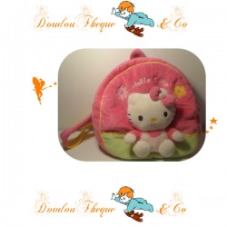 Backpack stuffed HELLO KITTY pink nursery