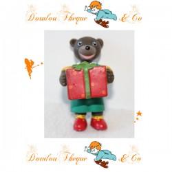 Figurine Petit Ours Brun BAYARD PRESSE DANIELE BOUR cadeau 1999