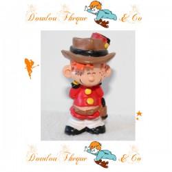 Figurine Le petit Spirou PASTOY Cow-Boy Dupuis 97 en pvc 6 cm