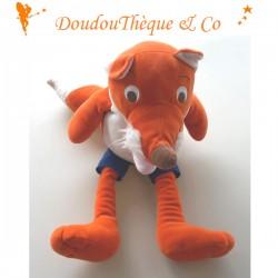 Peluche Renard LATITUDE marionnette geante 52 cm