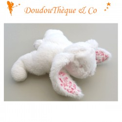 Lapin Bio Doudou et Compagnie mouchoir 14 cm